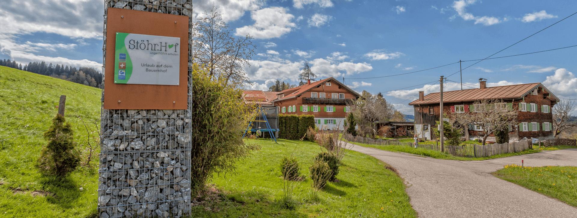 Stöhr.Hof Bauernhof
